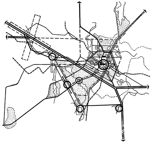 Схема возможной планировочной