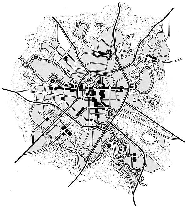 Схема планировочной структуры