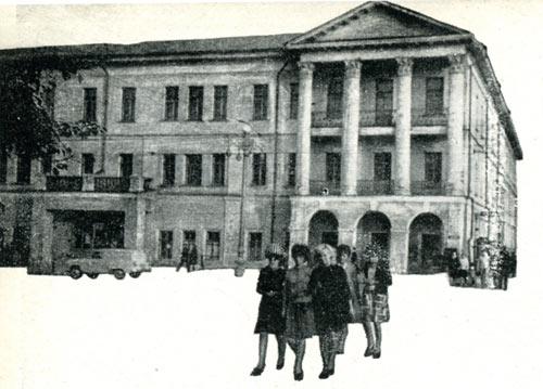 Памятник архитектуры xix века здание