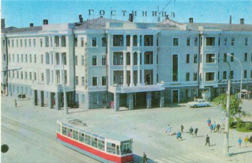 Гостиница северный урал